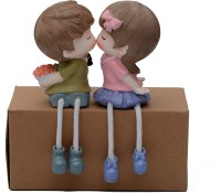 Store2508 Latku Romantic Bouquet Polyresin Hanging Legs Decorative Showpiece  -  12 cm(Polyresin)