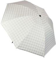KEKEMI UMB017_02 3 Fold Check Windproof Travel Umbrella(Multicolor)