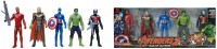 Johnnie Boy Original Super Hero Team Avengers Age Of Ultron Set(Multicolor)