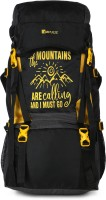 Impulse Mt. Calling 55 Litres Yellow Rucksack  - 55 L(Yellow)