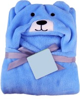 My New Born Blue Free Size Bath Robe(Pack of 1 new born baby boy and baby girl supersoft baby towel bathrobe, For: Baby Boys & Baby Girls, Blue)
