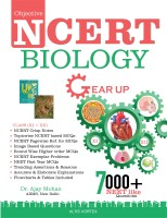 Objective Ncert Gearup Biology for Neet/Aiims 2020(English, Paperback, Mohan Ajay)