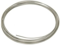 Easy Electronics Nichrome Wire - Heat Resistance Wire, Heating Coils, Foam cutting wire Silver 1 m Wire(silver)