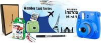 FUJIFILM Instax Mini9 Wander Lust Series Instant Camera(Blue)