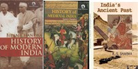 History Of Medieval India By Satish Chandra, History Of Modern India By Bipin Chandra, Oxford India's Ancient Past By Rs Sharma(Paperback, R.S SHARMA, M.LAXMIKANTH)