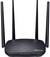 iball WRD-12EN 1200 Mbps Router(Black, Dual Band)