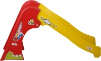 NHR Colorful Junior Plastic Garden Slide with Stairs for Kids/ Toddlers/ Preschoolers(Multicolor)