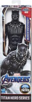 Marvel Avengers Endgame Titan Hero Series Black Panther 12-Inch-Scale Super Hero Action Figure Toy with Titan Hero Power FX Port(Multicolor)