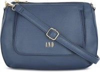 AND Women Blue Sling Bag