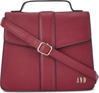 AND Women Red Sling Bag