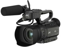 JVC GY 4K Compact Professional Video Camera Camcorder(Black)