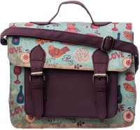 Band Box Blue Sling Bag