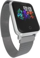 Noise colorfitpro-mtl-slvr Fitness Smart Band Silver Smartwatch(Silver Strap Free)
