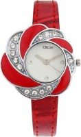 DICE FLRR-W087-6653 Flora Red Analog Watch For Women