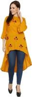 Meet Nex Women High Low Multicolor Dress