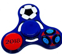 Aonespinner Aone Hand Spinner Football Metal Fidget Spinner Toy (Blue)(Blue)