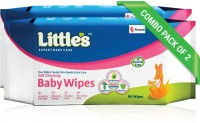 Little's Soft Cleansing Baby Wipes with Aloe Vera, Jojoba Oil and Vitamin E (80 N x 2 Pack of)(160 Pieces)