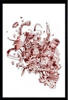 shooraarts Digital Reprint 13 inch x 9 inch Painting