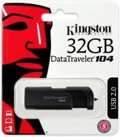 KINGSTON DT104/32GB 32 GB Pen Drive(Black)