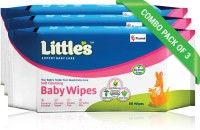 Little's Soft Cleansing Baby Wipes (80 Wipes)(4 Pieces)