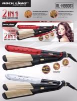 Rocklight ROCK LIGHT-HB-8061 Hair Straightener(Multicolor)