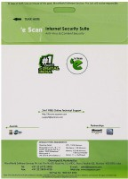 eScan Internet Security Suite 3 PC 1 Year(CD/DVD)
