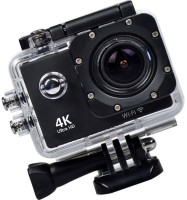 Odile 4K action camera 4K Ultra HD 16MP Camera Sports and Action Camera(Black, 16 MP)