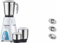 Bajaj GX 3 GX3 500 mixer grinder 500 Mixer Grinder(White, Blue, 3 Jars)