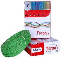 Happy Selling PVC 2.5 sq/mm Green 90 m Wire(Green)