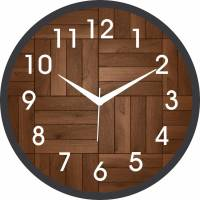 IT2M Analog 24.13 cm X 24.13 cm Wall Clock