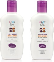 Baby Spa 2-IN-1 Bubble Bath & Wash With NO-TEARS FORMULA(400 ml)