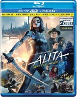Alita: Battle Angel (Blu-ray 3D & Blu-ray) (2-Disc) (Region Free)(3D Blu-ray English)