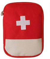 Luxula First Aid Kit Travel Medicine Storage Bag (Red) First Aid Kit(Vehicle)