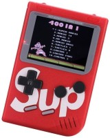 Like Star Best SUP 400 in 1 Retro Game Box Console Handheld Classical Game PAD box s6 with TV output Gaming Console 8 GB with Mario/Super Mario/DR Mario/Contra/Turtles and other 400 Games 8 GB with Super Mario, DR Mario, Mario, Contra, Turtles, Tank, Bomber Man, Aladdin, Total 400 Games(Red)