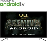 Vu Premium Android 108cm (43 inch) Ultra HD (4K) LED Smart Android TV  with Cricket Mode(43-OA)