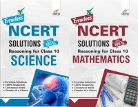 Errorless NCERT Solutions with with 100% Reasoning for Class 10 Science & Mathematics(English, Paperback, Disha Experts)