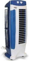 AKSHAT 0 L Tower Air Cooler(Blue, White, Cool Breeze Tower Fan with 25 Feet Air)