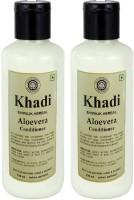 Khadi Herbal Aloevera Hair Conditioner - Twin Pack(420 ml)