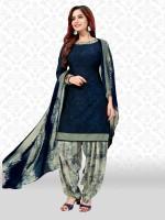 Divastri Poly Crepe Floral Print Salwar Suit Material(Unstitched)