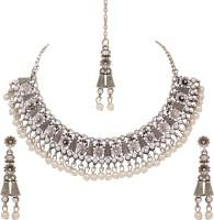 Atasi International Alloy Jewel Set(Silver)