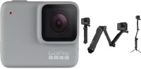 GoPro Hero7 (with 3 Way Mount) Sports and Action Camera(White, 10 MP)