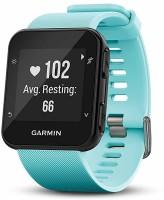GARMIN Forerunner 35 Watch, Frost Blue Smartwatch(Blue Strap, M)