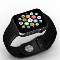 SMART 4G Mobile 4G smart Calling Android watch Smartwatch(Black Strap, Free)