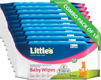 Little's Soft Cleansing Baby Wipes(10 Pieces)