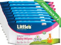 Little's Soft Cleansing Baby Wipe(8 Pieces)