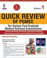 Quick Review of PGMEE, Volume 1(English, Paperback, Chandra Sharad)