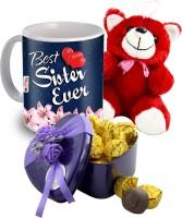 Midiron Birthday/Anniversary/Rakhi IZ19DTSister-41 Ceramic, Silk Gift Box(Multicolor)