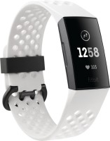 FITBIT Charge 3 Special Edition(White Strap, Size : Regular)