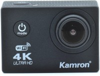 Kamron K6+ 4K Ultra HD 16MP WiFi, Waterproof Sports Action camera Sports and Action Camera(Black, 16 MP)