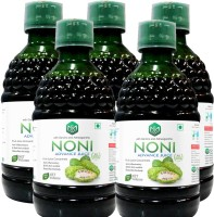 Scorlife Marketing Noni Advance Juice with garcinia and Ashwagandha [Pack of 5] Mixed Fruit(25 ml, Pack of 5)